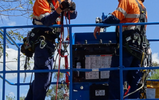 EWP Rescue and Controlled Descent Escape | Astra Group Services