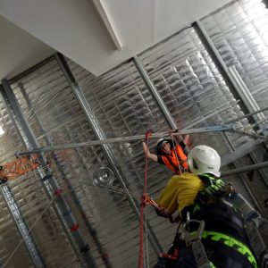Construction workers working on a building | Astra Group Services