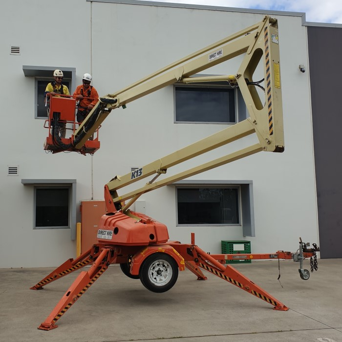 Image of telehandler | Featured image for building & civil construction courses.
