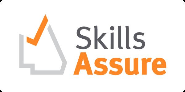 Skills Assure logo.