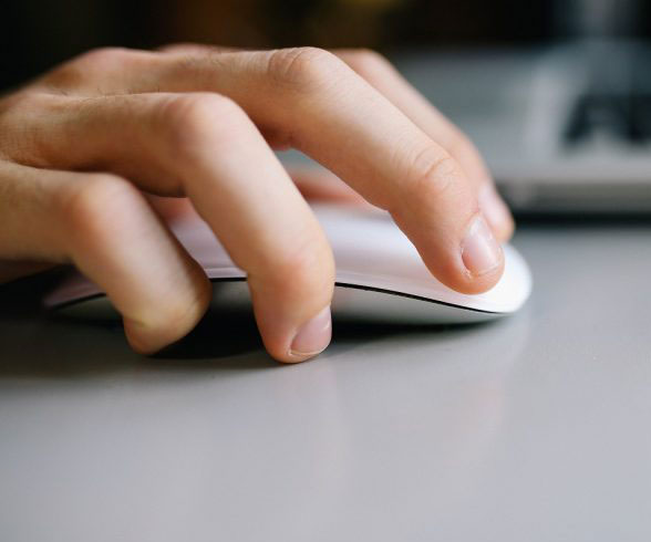 man using the mouse | Astra Group